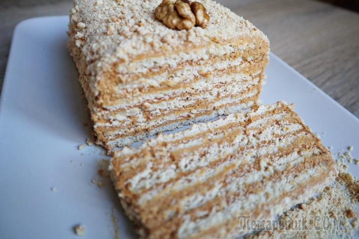 Торт без выпечки из трех ингредиентов