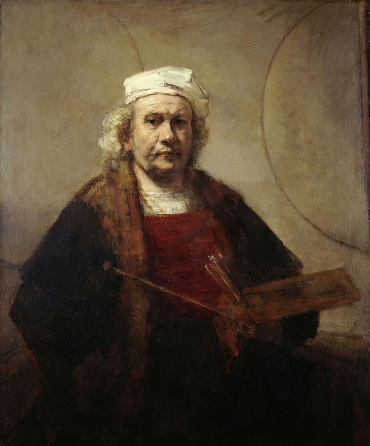 Автопортрет (1665/1669), Кенвуд-хаус, Лондон