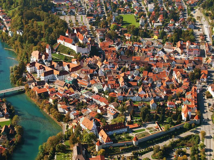 Фюссен: уникальный средневековый городок Баварии