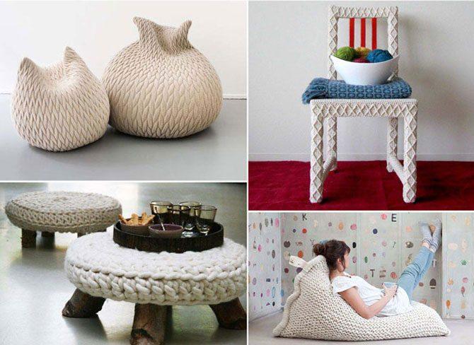 Вязание для уюта в доме
