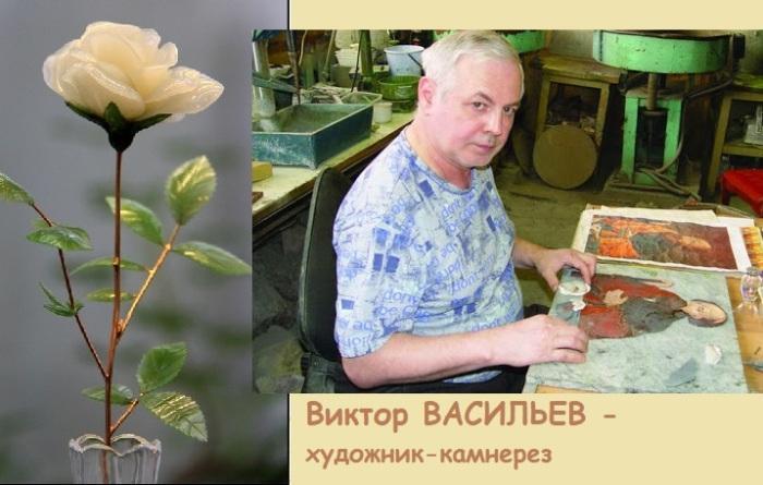 Камнерез с Урала создал уникальный райский сад из самоцветов: Секреты Фаберже из российской глубинки