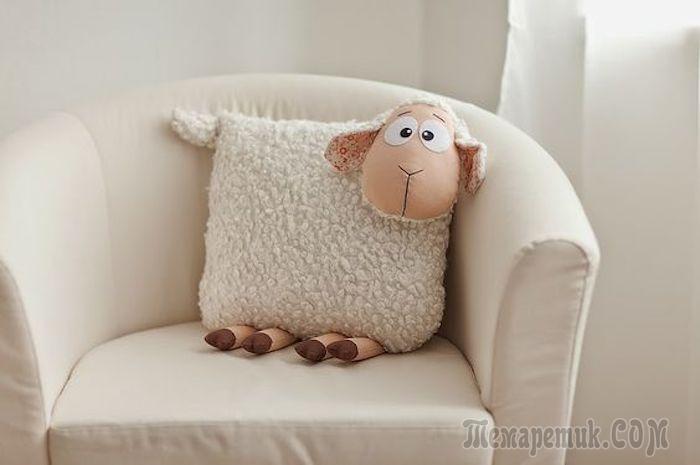 25 Способов сделать крутую интерьерную подушку