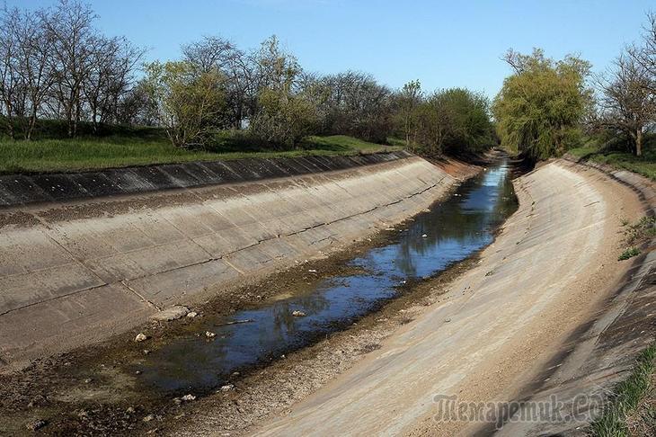 Украина заняла принципиальную и окончательную позицию касательно подачи воды в Крым