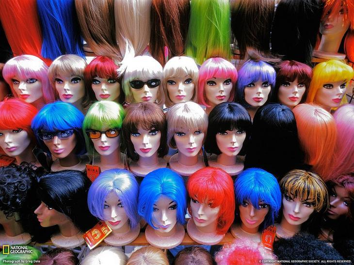 Модные парики, Нью-Йорк