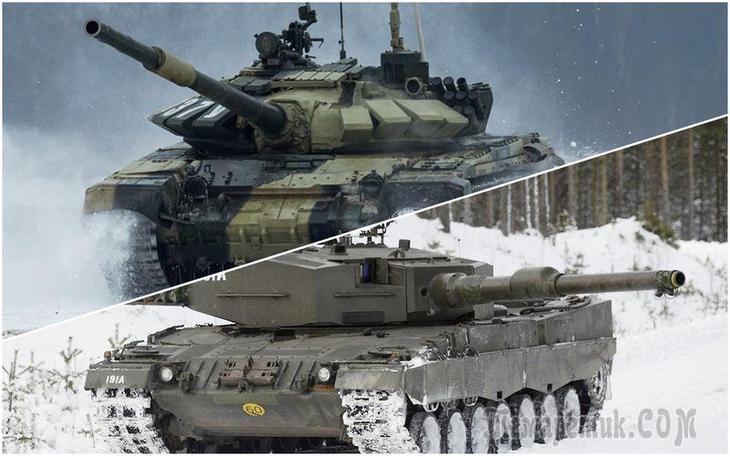 Наш Т-72Б3 против немецкого Леопарда-2: пришельцы из прошлого