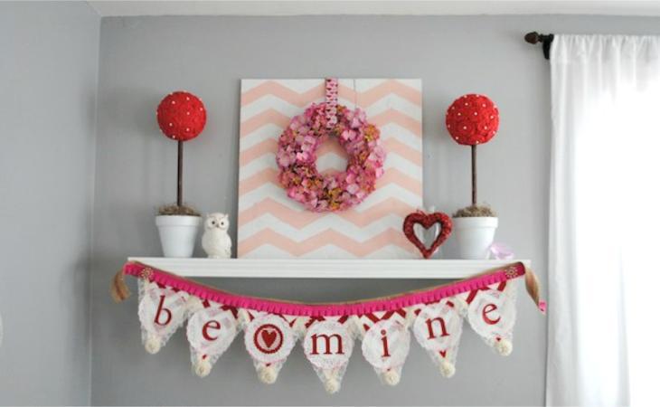 Идеи декора топиария цветами из креп-бумаги