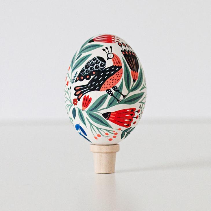 Пасхальные яйца фольклорные мотивы от художницы из Узбекистана Динары Мирталиповой, фото № 34