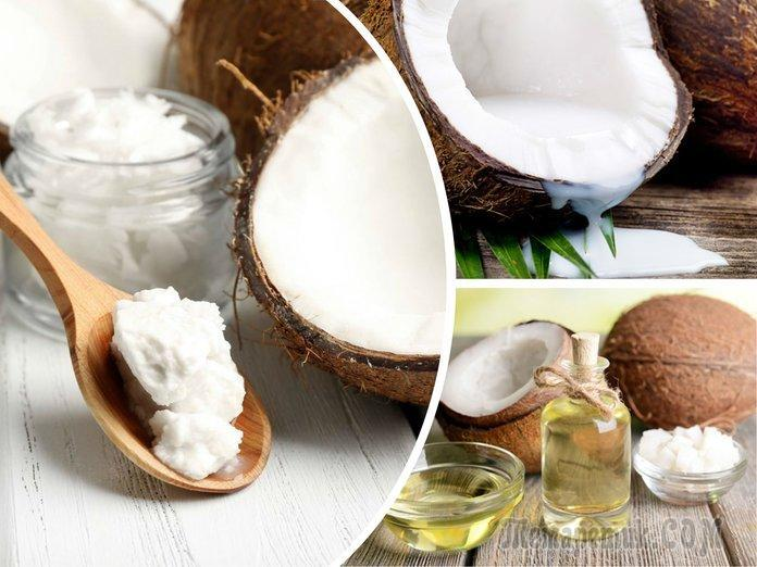 Использование кокосового масла для лица