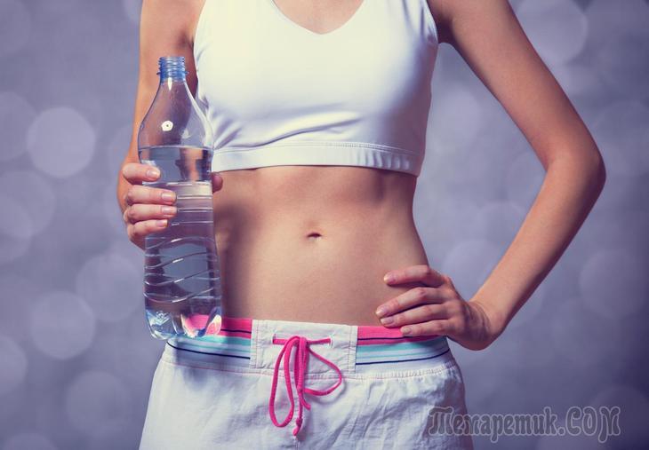 Как убрать жир с живота пошаговый план питания