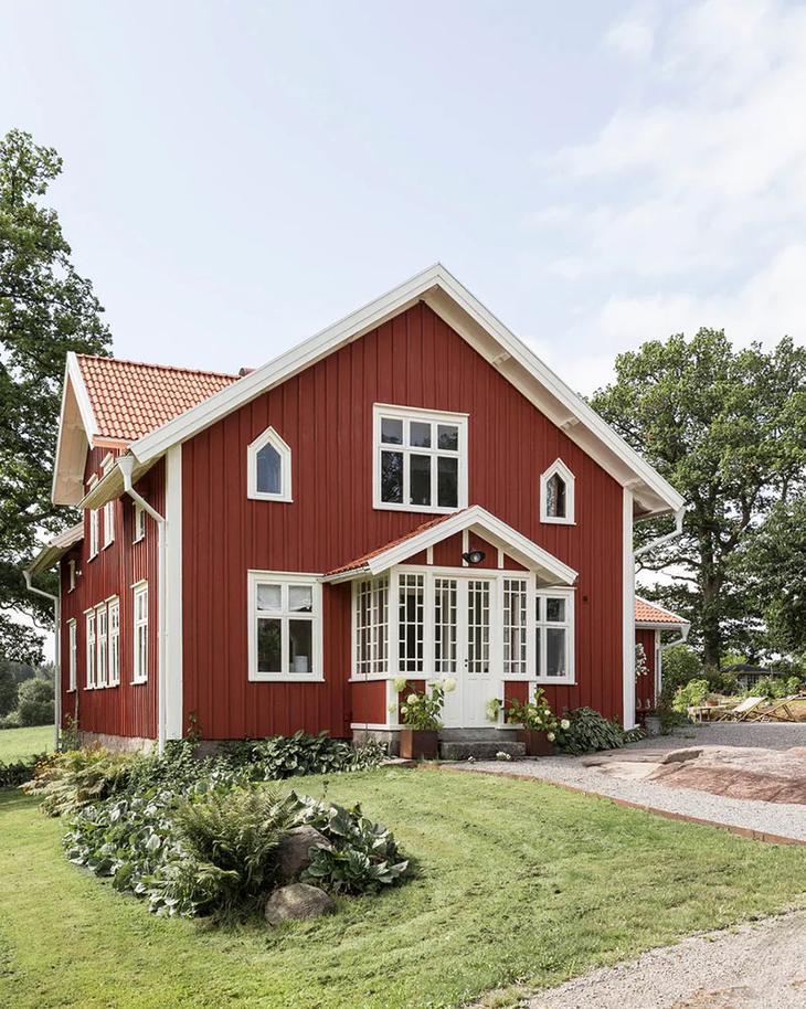 Скандинавская дача, пропитанная любовью и уютом