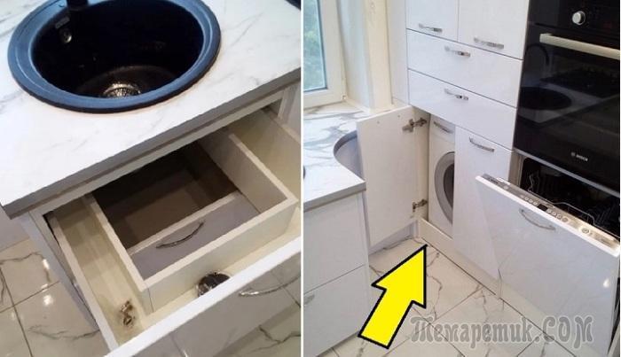 Кухня в «хрущевке»: Как с комфортом обустроить площадь в 5 кв. м