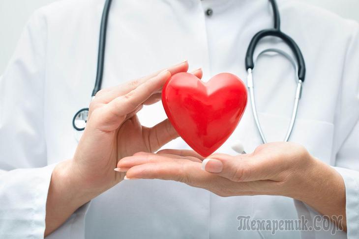 Болезни сердца: список и симптомы, лечение