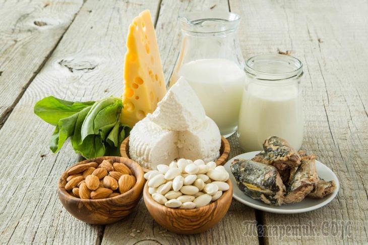 10 продуктов для крепких костей