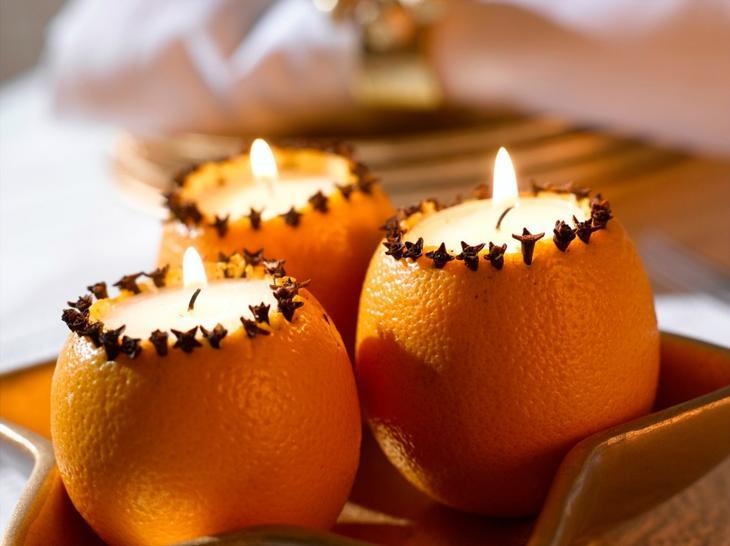 Апельсиновый декор