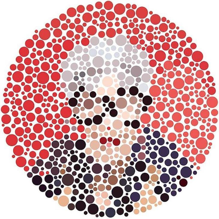 Нарушение цветовосприятия тест