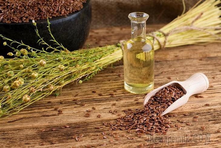 Льняное масло для похудения: польза и противопоказания