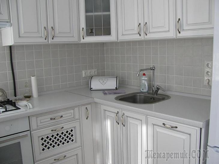 Кухня 5,7 квадратов в которой вмещается всё!