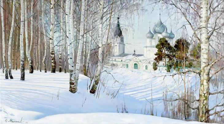 художник Олег Иванович Молчанов картины – 09