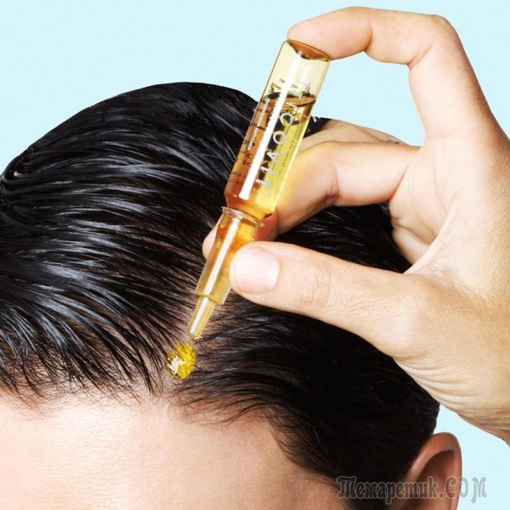 Профессиональные маски для волос против выпадения