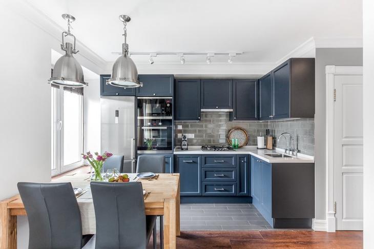 Как можно оформить 2-комнатную квартиру американском стиле
