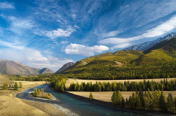 Reka Chuya krasota Altaya 6