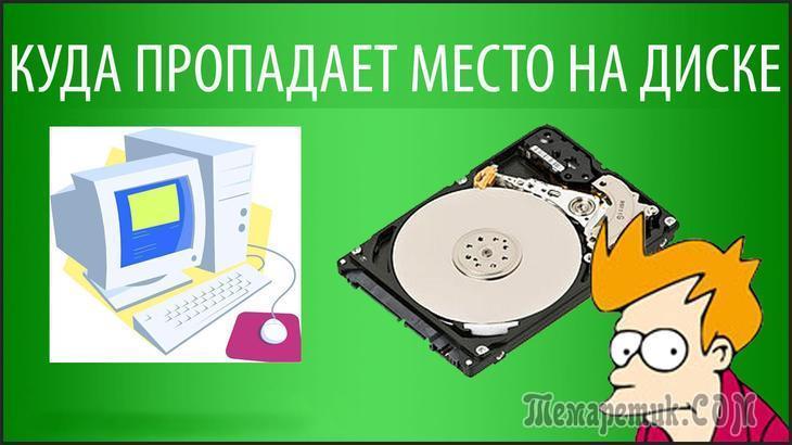 Удаление файлов, которые только зря занимают место
