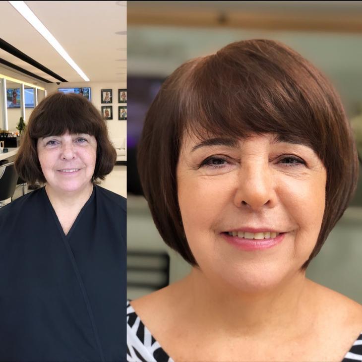 короткие стрижки для женщин старше 60 лет фото 8