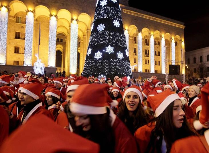 Как праздновали Рождество в разных странах мира