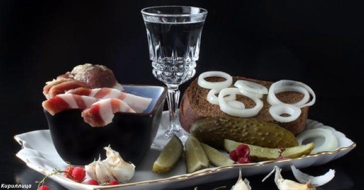 Продукты, которыми нельзя закусывать алкоголь