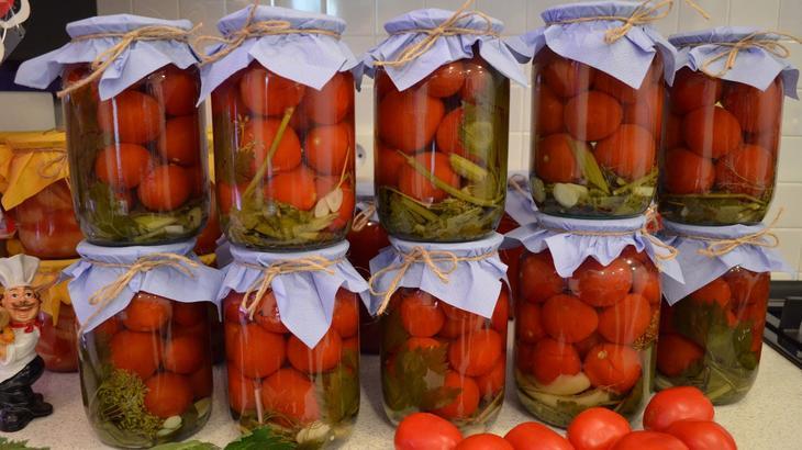 Картинки по запросу помидоры консервированные