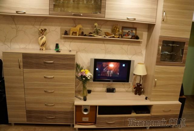 Ремонт однокомнатной квартиры от А до Я, 3 этап - Комната
