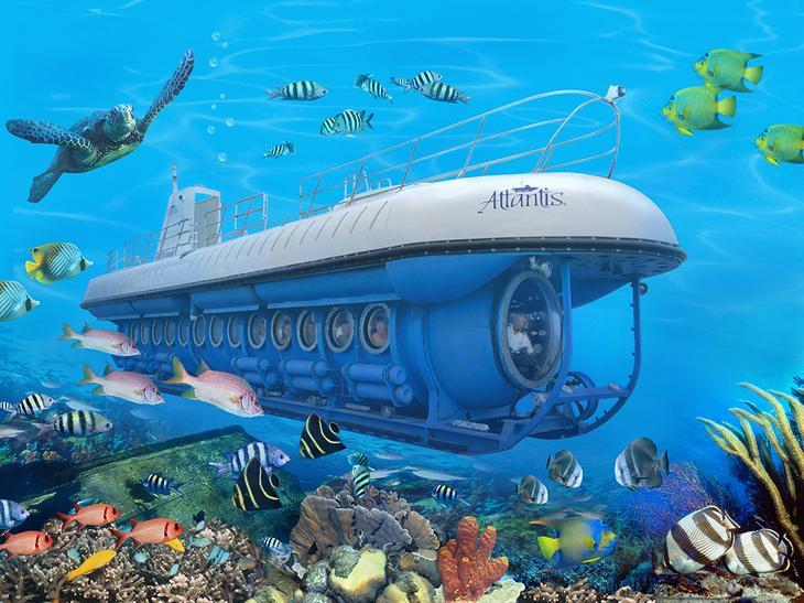 Подводная лодка Atlantis Submarines / ©traveltek.net