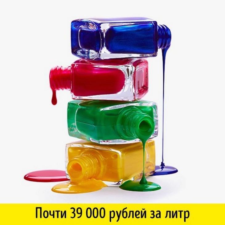 15 дорогих жидкостей, которыми мы пользуемся (16 фото)