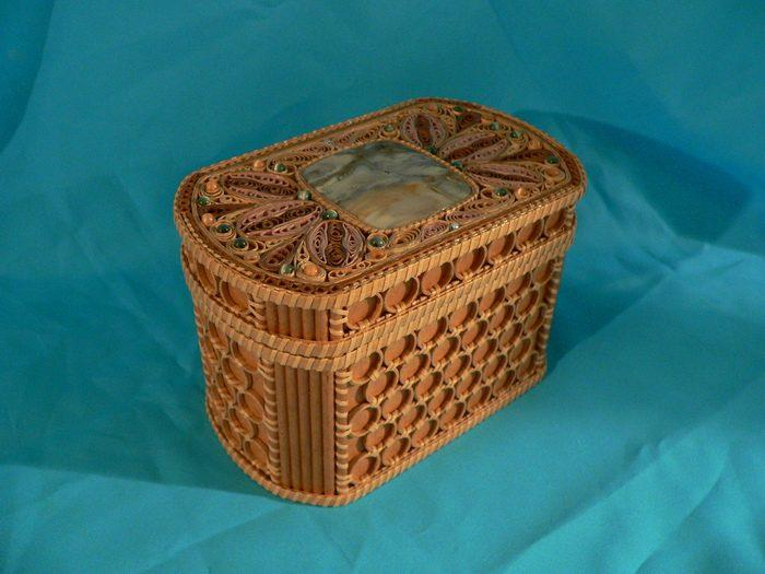 Торсион-папье, редкие рукоделия