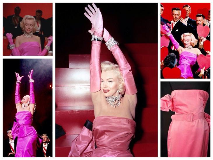 Платье из фильма Джентльмены предпочитают блондинок