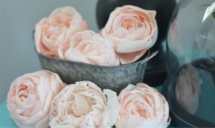 Тюльпаны из ленты своими руками 858