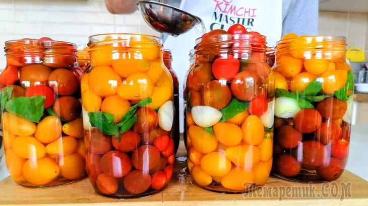 Медовые помидоры на зиму / Зимой открыли и пожалели, что приготовили мало!