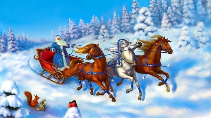 Дедушка Мороз (Россия) дед мороз, новый год.рождество, санта клаус
