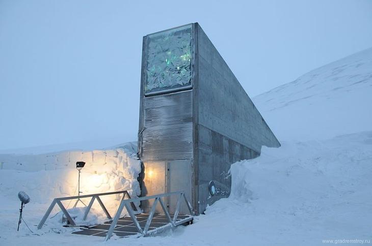 Всемирное семенохранилище на острове Шпицберген / ©wikipedia