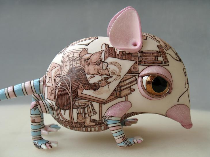 NewPix.ru - fantasía de cerámica Anna Stasenko y Gloria Leontiev
