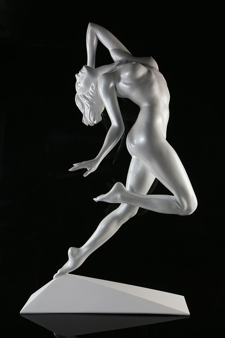 Yves Pires - Sculptures : Rêve de Liberté Nacré