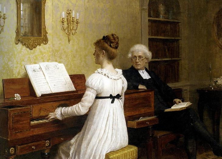 УÑок игÑÑ Ð½Ð° пианино. ЭдмÑнд ÐлÑÑ ÐейÑон