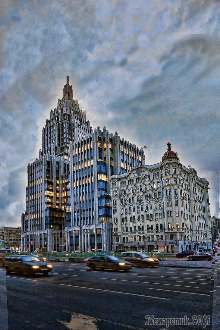 Вечерняя Москва - от Маяковки до Самотеки