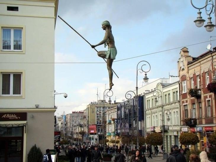 Удивительные скульптуры современности. Фото