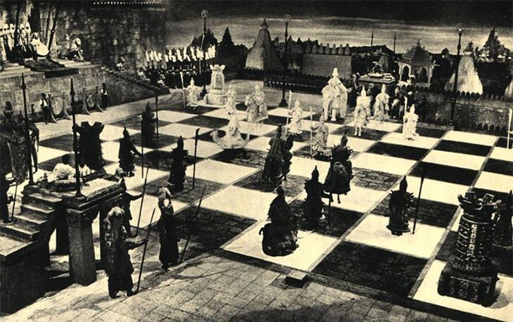 Смертельные шахматы интересное, люди, мистика, необычное, поступки, странности, факты, явления