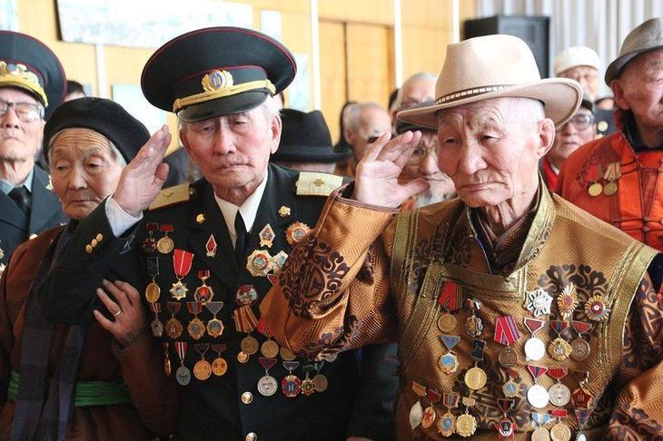 Монгольские ветераны войны
