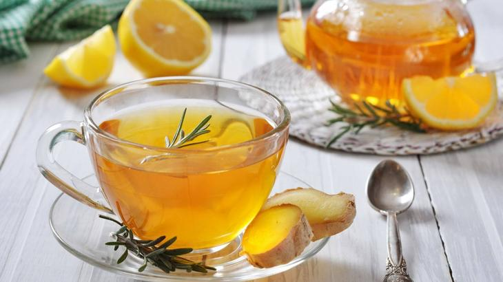 Имбирно-медовый чай