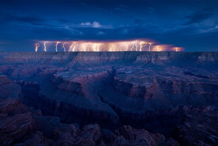 Самые удивительные молнии. Фото