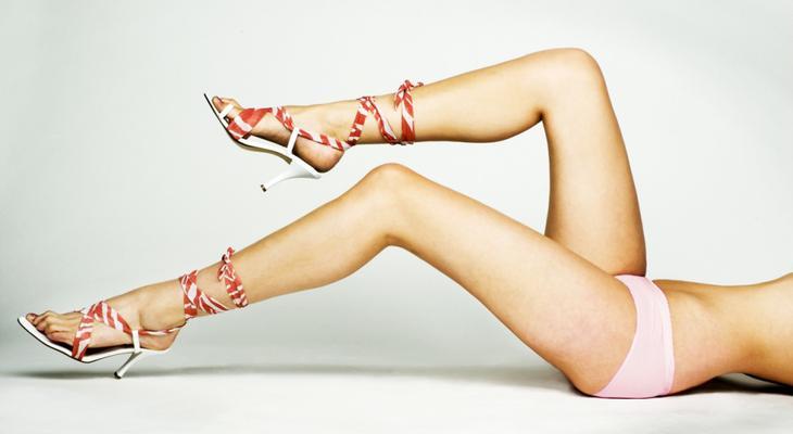 Как убрать жир с ног женщине
