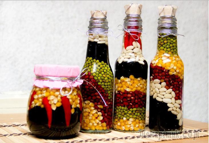 fullsize Декор бутылок шпагатом своими руками